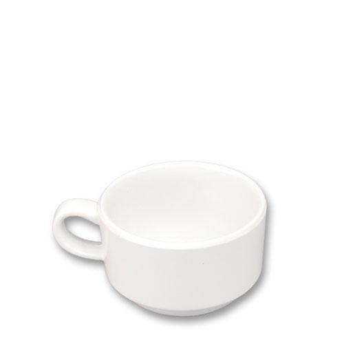 멜라민 미색 커피잔