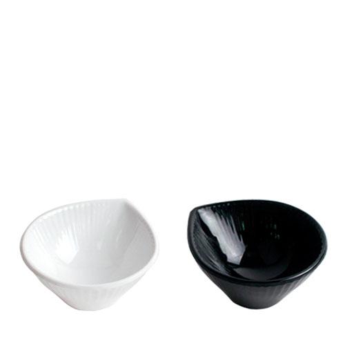 멜라민 샤인(백,흑) 물방울소스볼