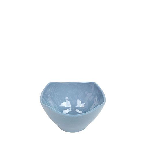 멜라민 청블루 사각원형공기 351