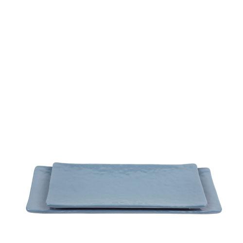 멜라민 청블루 직사각접시 180 (2Size)